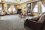 Wyndham Peabody Court Hotel Guest Rooms and Historic Details, Baltimore, Maryland