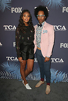 WEST HOLLYWOOD, CA - AUGUST 2: Chandler Kinney, Jonathan Fernandez, at the FOX Summer TCA All-Star Party At SOHO House in West Hollywood, California on August 2, 2018. <br /> CAP/MPI/FS<br /> &copy;FS/MPI/Capital Pictures