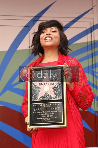 Taraji P Henson<br /> at the Taraji P. Henson Star on the Hollywood Walk of Fame, Hollywood, CA 01-28-19<br /> David Edwards/DailyCeleb.com 818-249-4998