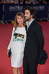 Axelle Laffont and boyfriend attend 'The November man' premiere during the 40th Deauville American Film Festival on September 5, 2014 in Deauville,