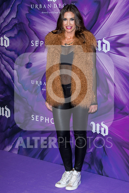 Wende Zomnir during the celebration of 20th anniversary of Urban Decay in Madrid, Spain. November 02, 2016. (ALTERPHOTOS/Rodrigo Jimenez)