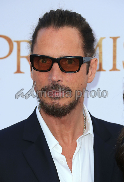 "12 April 2017 - Hollywood, California - Chris Cornell. Premiere Of Open Road Films' ""The Promise"" held at TCL Chinese Theatre. Photo Credit: AdMedia"