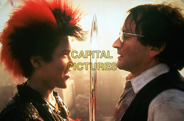 Hook (1991) <br /> Robin Williams &amp; Dante Basco<br /> *Filmstill - Editorial Use Only*<br /> CAP/KFS<br /> Image supplied by Capital Pictures