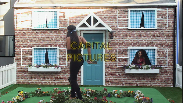 Celebrity Big Brother, Summer 2016, Day 21<br /> Marnie Simpson and Sophie.<br /> *Editorial Use Only*<br /> CAP/KFS<br /> Image supplied by Capital Pictures