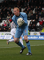 Craig Samson in the St Mirren v Dundee United Clydesdale Bank Scottish Premier League match played at St Mirren Park, Paisley on 27.10.12.