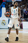 Real Madrid Chasson Randle during Turkish Airlines Euroleague match between Real Madrid and CSKA Moscu at Wizink Center in Madrid, Spain. October 19, 2017. (ALTERPHOTOS/Borja B.Hojas)