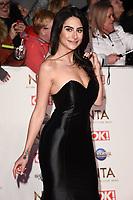 Karine Lepore<br /> arriving for the National TV Awards 2020 at the O2 Arena, London.<br /> <br /> ©Ash Knotek  D3550 28/01/2020