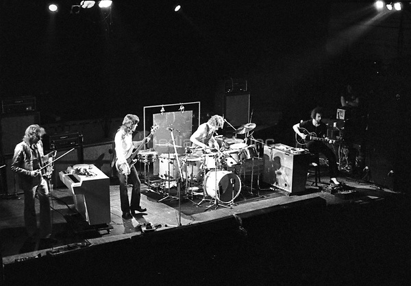King Crimson performing in 1973. Credit: Ian Dickson/MediaPunch