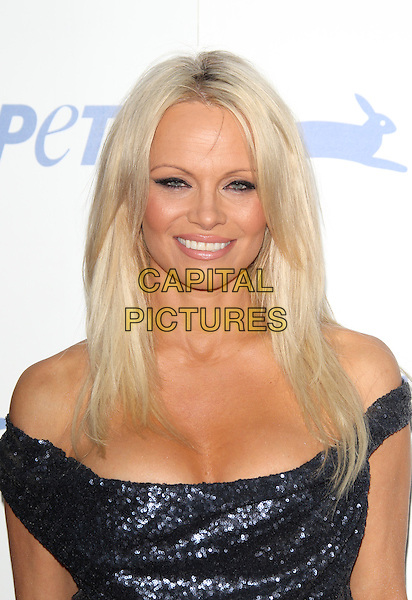 LOS ANGELES, CA - SEPTEMBER 30: Pamela Anderson at PETA's 35th Anniversary Party at Hollywood Palladium on September 30, 2015 in Los Angeles, California. <br /> CAP/MPI22<br /> &copy;MPI22/Capital Pictures