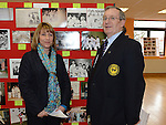 Phil Nulty and Lorraine O'Neill pictured at the photo exhibition to commemorate 45 years of the Drogheda Karate Club held in the Barbican Centre. Photo:Colin Bell/pressphotos.ie