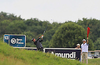 Raffa Cabrera-Bello (ESP) on the 13th tee during Round 2 of the 100th Open de France, played at Le Golf National, Guyancourt, Paris, France. 01/07/2016. <br /> Picture: Thos Caffrey | Golffile<br /> <br /> All photos usage must carry mandatory copyright credit   (&copy; Golffile | Thos Caffrey)