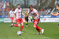 Matthew Godden of Stevenage during Stevenage vs Cambridge United, Sky Bet EFL League 2 Football at the Lamex Stadium on 14th April 2018