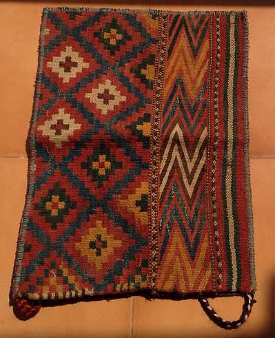 Tatari tribe Saddle bag Northern Afghanistan (some refer to them as Uzbek weaving)