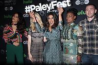 NEW YORK, NY-October 17:Yasmine al Massri, Johanna Braddy,Priyanka Chopra, Aunjanue Ellis, Jake McLaughlin, at PaleyFest New York presents Quantico at the Paley Center for Media in New York.October 17, 2016. Credit:RW/MediaPunch