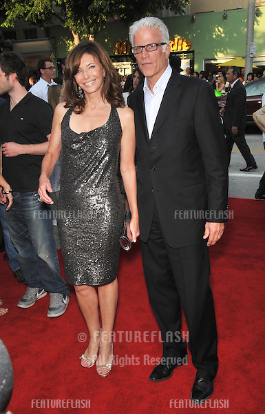 "Mary Steenburgen & husband Ted Danson at the premiere of her new movie ""Step Brothers"" at Mann Village Theatre, Westwood..July 15, 2008  Los Angeles, CA.Picture: Paul Smith / Featureflash"
