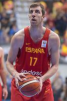 Spain Fran Vazquez during FIBA European Qualifiers to World Cup 2019 between Spain and Slovenia at Coliseum Burgos in Madrid, Spain. November 26, 2017. (ALTERPHOTOS/Borja B.Hojas) /NortePhoto NORTEPHOTOMEXICO