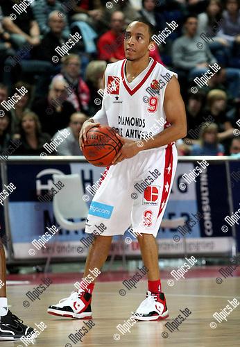 2009-12-05 / Basketbal / seizoen 2009-2010 / Antwerp Giants - Luik / Timothy Black..foto: mpics