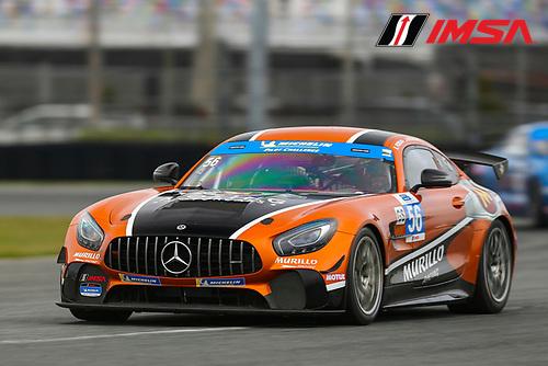 #56 Murillo Racing Mercedes-AMG GT GT4, GS: Jeff Mosing, Eric Foss
