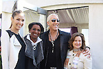 Dayana Mendoza & Candace Matthews & Dee Snider & Sharon Cohen - The 2012 Skating with the Stars  - a benefit gala for Figure Skating in Harlem celebrating 15 years on April 2, 2012 at Central Park's Wollman Rink, New York City, New York.  (Photo by Sue Coflin/Max Photos)