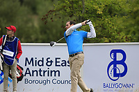 Alvaro Velasco (ESP) tees off the 16th tee during Sunday's Final Round of the Northern Ireland Open 2018 presented by Modest Golf held at Galgorm Castle Golf Club, Ballymena, Northern Ireland. 19th August 2018.<br /> Picture: Eoin Clarke | Golffile<br /> <br /> <br /> All photos usage must carry mandatory copyright credit (&copy; Golffile | Eoin Clarke)