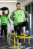 Matt Grimes of Swansea City in the gym during the Swansea City Training Session at The Fairwood Training Ground in Swansea, Wales, UK. Wednesday 16 October 2019