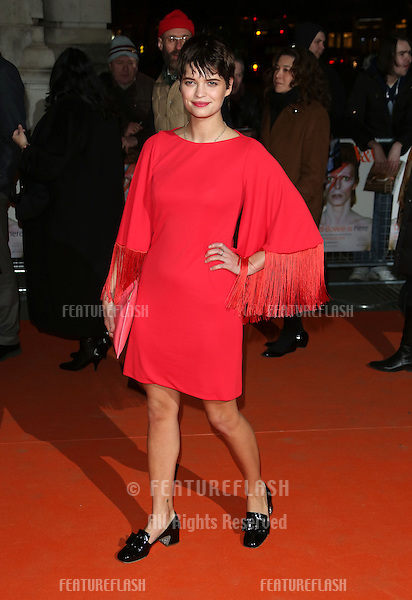 Pixie Geldof arriving for the David Bowie Is private view held at the V&A, London. 20/03/2013 Picture by: Henry Harris / Featureflash.