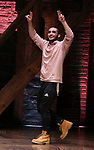 "Giuseppe Bausilio during the eduHAM Q & A before The Rockefeller Foundation and The Gilder Lehrman Institute of American History sponsored High School student #EduHam matinee performance of ""Hamilton"" at the Richard Rodgers Theatre on November 13, 2019 in New York City."