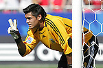 12 July 2007: Argentina's Sergio Romero. Argentina's Under-20 Men's National Team defeated Poland's Under-20 Men's National Team 3-1 in a  round of 16 match at the National Soccer Stadium (also known as BMO Field) in Toronto, Ontario, Canada during the FIFA U-20 World Cup Canada 2007 tournament.