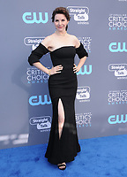 11 January 2018 - Santa Monica, California - Audrey Moore. 23rd Annual Critics' Choice Awards held at Barker Hangar. <br /> CAP/ADM/BT<br /> &copy;BT/ADM/Capital Pictures