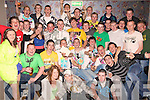 Party Time - Mikey O'Shea from Causeway, seated centre having a ball with friends and family at his 18th birthday bash held in The Keg Bar, Causeway on Friday night........................................................................................................................................................................................................................... ............