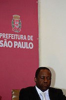 SAO PAULO, SP, 01/04/2014, POSSE SECRETARIO DA IGUALDADE RACIAL, Antonio Silva Pinto (foto) Novo Secretario da Igualdade Racial na Prefeitura de São Paulo região central da cidade nesta Terca Feira 1. ( Foto: Bruno Ulivieri / Brazil Photo Press )