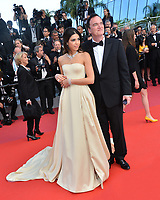 CANNES, FRANCE. May 25, 2019: Quentin Tarantino & Daniella Tarantino at the Closing Gala premiere of the 72nd Festival de Cannes.<br /> Picture: Paul Smith / Featureflash