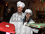 Dominic Maguire and Emma Brennan at the Italian night held in Watters Collon in aid of the Gary Kelly Cancer Support  Centre. Photo:Colin Bell/pressphotos.ie