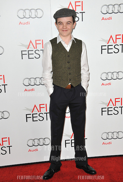"Gulliver McGrath at the AFI Fest premiere of his movie ""Lincoln"" at Grauman's Chinese Theatre, Hollywood..November 8, 2012  Los Angeles, CA.Picture: Paul Smith / Featureflash"