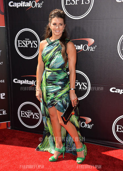 Racing driver Danica Patrick at the 2015 ESPY Awards at the Microsoft Theatre LA Live.<br /> July 15, 2015  Los Angeles, CA<br /> Picture: Paul Smith / Featureflash