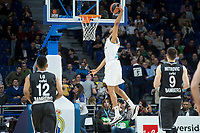 Real Madri Anthony Randolph during Turkish Airlines Euroleague match between Real Madrid and Brose Bamberg at Wizink Center in Madrid, Spain. April 06, 2018. (ALTERPHOTOS/Borja B.Hojas) /NortePhoto.com