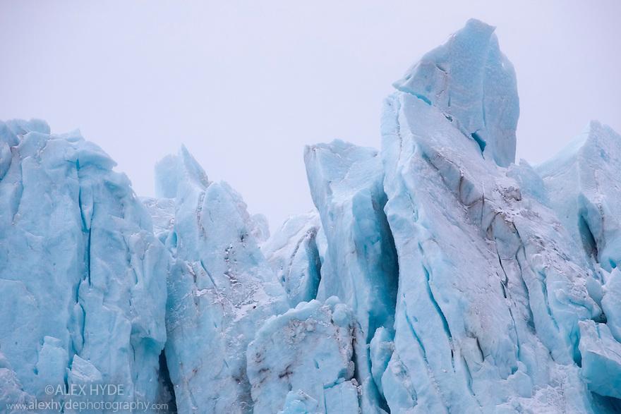 Glacier at Drygalski Fjord, South Georgia. November.