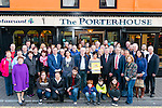 Launch of Nathan's Walk Darkness into Light sponsored by Electric Ireland at the Porterhouse, Killarney last Tuesday evening.