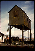 Locomotive hoist - Alamosa yards.<br /> D&amp;RGW  Alamosa, CO