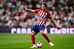 Filipe Luis of Atletico de Madrid in action during their La Liga  2018-19 match between Real Madrid CF and Atletico de Madrid at Santiago Bernabeu on September 29 2018 in Madrid, Spain. Photo by Diego Souto / Power Sport Images
