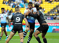 Action from the 2017 Rugby League World Cup quarterfinal match between New Zealand Kiwis and Fiji at Westpac Stadium in Wellington, New Zealand on Saturday, 18 November 2017. Photo: Mike Moran / lintottphoto.co.nz