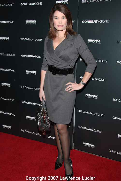 "Television journalist Kimberly Guilfoyle  arrives at the New York screening of the film ""Gone Baby Gone"" at the IFC Center in New York City.. (Pictured : KIMBERLY GUILFOYLE)."
