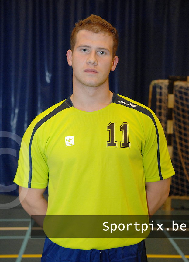Handbal Izegem : Patryk Struzyna.foto DAVID CATRY / VDB