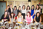 Emma Carey from Dromid celebrated her 18th birthday with friends in The Bonnán Buí, Cahersiveen on Saturday night last, picture here front l-r; Rebecca O'Sullivan, Melissa O'Sullivan, Emma Carey, Heather O'Sullivan, Rosalie Roddy, back l-r; Sarah Morris, Catherine Murphy, Edel Carmody, Sinéad McGillicuddy, Sarah Curran, Úna O'Connor, Aoife Sheehan & Marion Lynch.