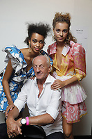 SEP 2018 Paul Costelloe backstage at LFW