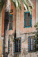 Europe/France/06/Alpes-Maritimes/Menton:  Jardin de Fontana Rosa de l'écrivain espagnol Vicente Blasco Ibanez.<br /> Son atmosphère sont proches de ceux régnant dans les jardins arabo-persans et andalous