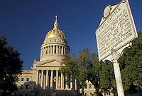 AJ3118, Charleston, state capitol, state house, West Virginia, The State Capitol Building in the capital city of Charleston in the state of West Virginia.