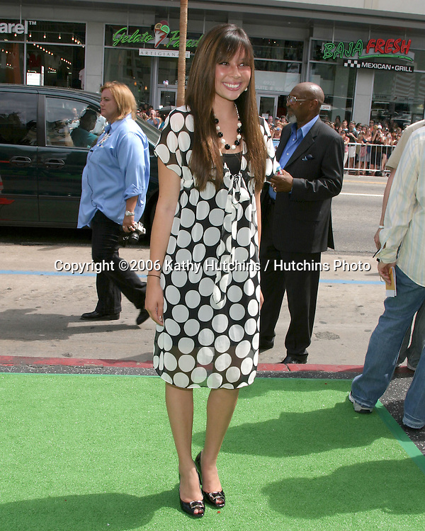 """Malese Jow.""""The Ant Bully"""" LA Premiere.Grauman's Chinese Theater.Los Angeles, CA.July 23, , 2006.©2006 Kathy Hutchins / Hutchins Photo...."""