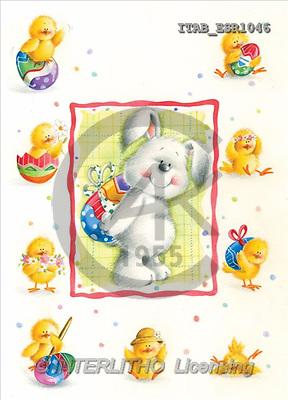 Andrea, EASTER, paintings, rabbit, chicken(ITABESR1046,#E#)