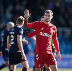 08.03.2020: Ross County v Rangers: Borna Barisic at full time to the Rangers fans
